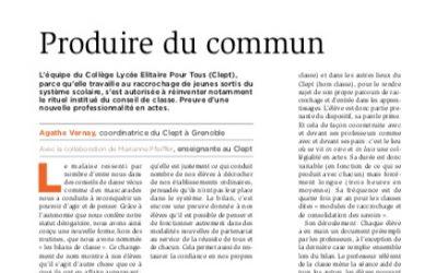 Article Cahiers Pédagogiques